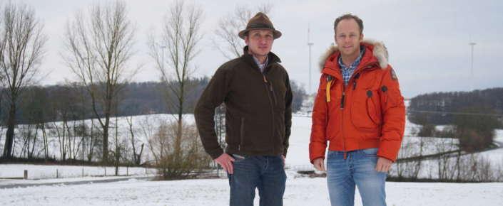 Schlüchterns FDP Ortsverbandsvorsitzender Alexander H. Klüh und der FDP Kreisvorsitzende Main Kinzig, Kolja Sass (rechts).
